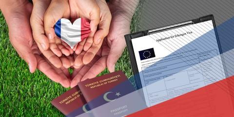 Fransa Aile Ziyareti Vizesi