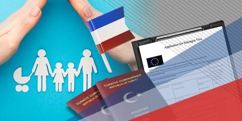 Fransa Aile Birleşimi Vizesi